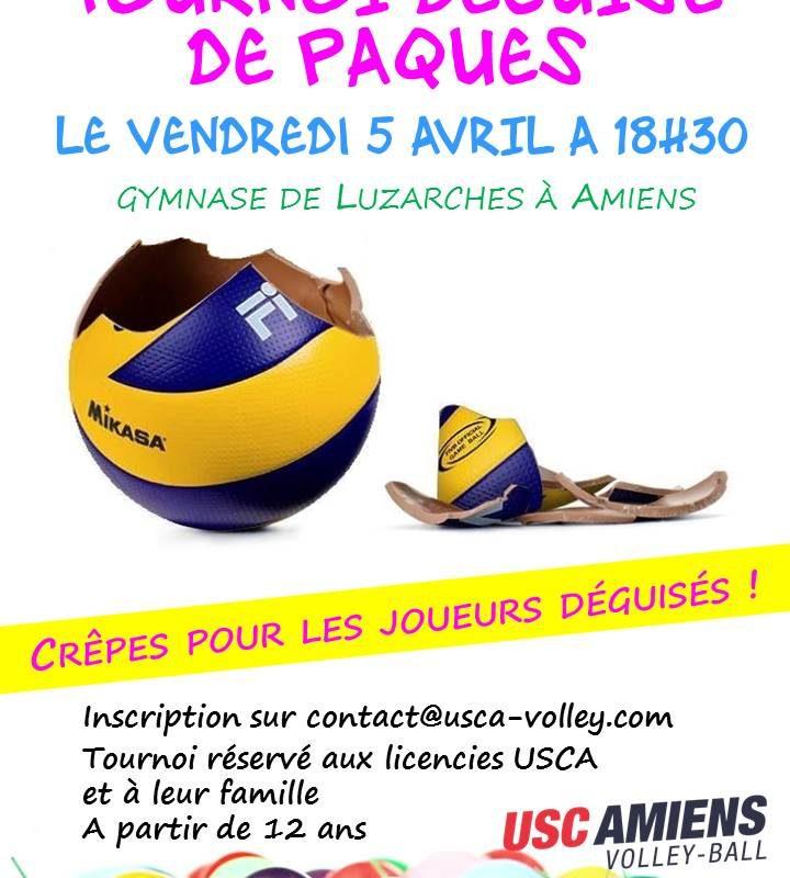 INVITATION TOURNOI DE PAQUES